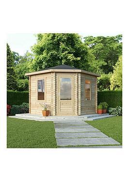 mercia-3-x-3m-corner-log-cabin