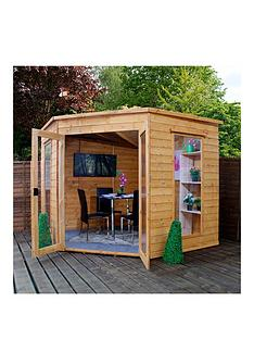 mercia-8-xnbsp8ft-corner-summerhouse-with-assembly