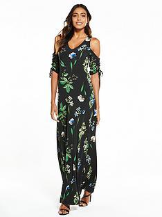 v-by-very-drawcord-sleeve-maxi-dress