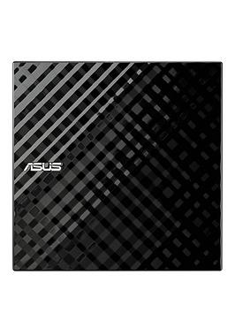 Asus Sdrw08D2SU Lite Portable External Sata Dvd Writer  Black