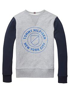 tommy-hilfiger-crew-neck-contrast-sleeve-sweat