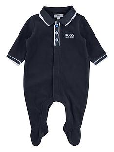 boss-baby-boys-velour-babygrow