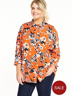 v-by-very-curve-printed-blouse