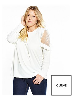 v-by-very-curve-curve-ruffle-lace-tunic-ivory