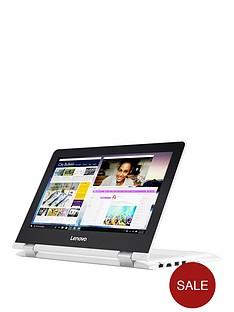 lenovo-lenovo-yoga-300-11ibr-intel-celeron-4gb-ram-500gb-hard-drive-116in-touchscreen-2-in1-laptop-white