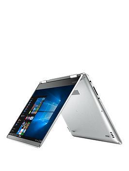 Lenovo Lenovo Yoga 71014Ikb Intel Core I5 8Gb Ram 128Gb Ssd 14In Full Hd Touchscreen 2 In1 Laptop Aluminium Silver  Laptop With Microsoft Office 365 Home