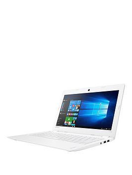 Lenovo Ideapad 110S11Ibr Intel&Reg Celeron&Reg Processor 2Gb Ram 32Gb Emmc Ssd 11.6In Laptop Including Microsoft Office With Optional Mcafee Livesafe White  Laptop With Mcafee Livesafe