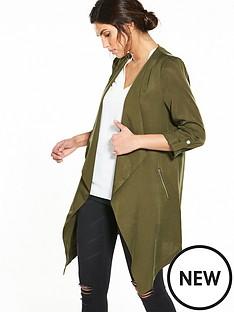wallis-tencel-jacket-khaki