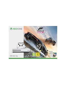 Xbox One S 500Gb Xbox One S 500Gb Console With Forza Horizon 3 And Extra Controller