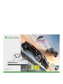 Xbox One S 1Tb Xbox One S 1Tb Console With Forza Horizon 3 And 12 Months Live Subscription