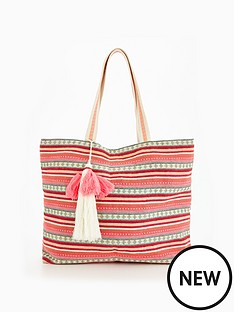 v-by-very-aztec-beach-bag