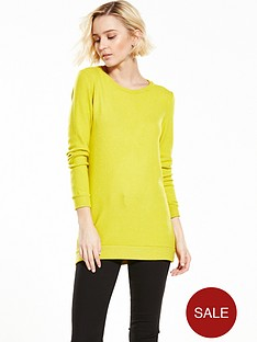 river-island-long-sleeve-tie-back-tshirt
