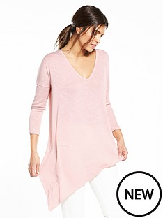 v-by-very-asymmetric-jersey-knit-top-light-pinknbsp