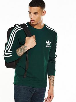 Adidas Originals Long Sleeve Pique TShirt