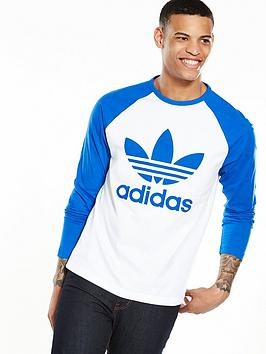 Adidas Originals Trefoil Long Sleeve TShirt