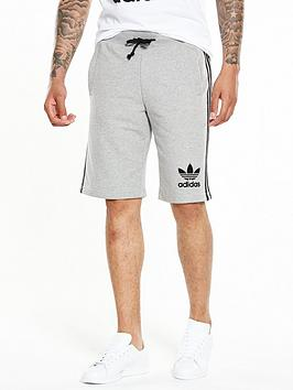 Adidas Originals 3S Short  Medium Grey Heather