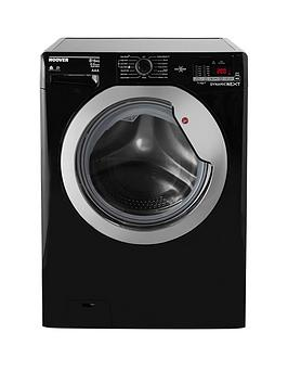 Hoover Wdxoc686Cb Dynamic Next Classic One Touch 8Kg Wash 6Kg Dry 1600 Spin Washer Dryer  Black