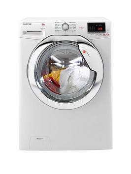 Hoover Dynamic Next One Touch Dxoa610Hcw 10Kg Load 1600 Spin Washing Machine  WhiteChrome
