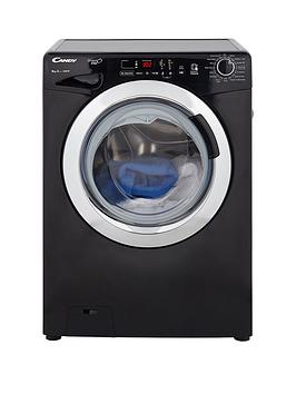 Candy Gvs148Dc3B GrandO Vita Smart Touch 8Kg Load 1400 Spin Washing Machine  Black