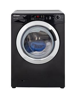 Candy Gvs149Dc3B GrandO Vita Smart Touch 9Kg Load 1400 Spin Washing Machine  Black