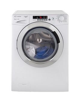 Candy GrandO Vita Smart Touch Gvs1410Dc3 10Kg Load 1400 Spin Washing Machine  White