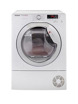 Hoover Dncd91Bc Dynamic 9Kg Load Aquavision Condenser Sensor Tumble Dryer  White