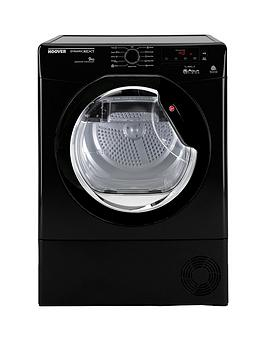 Hoover Dncd91Bbb Dynamic 9Kg Load Aquavision Condenser Sensor Tumble Dryer  Black