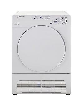 Candy Gcc590Nb 9Kg Sensor Condenser Tumble Dryer  White