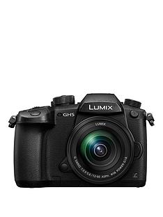 panasonic-dc-gh5meb-k-lumix-g-203-megapixelnbspcompact-system-camera-withnbsp-12-60mm-lens