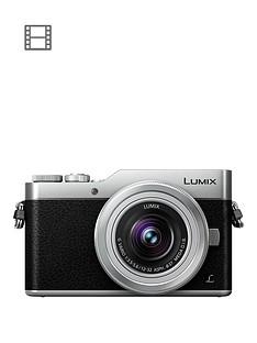 panasonic-dc-gx800kebs-lumix-compact-system-mirrorless-camera-with-12-32mm-lens-silver