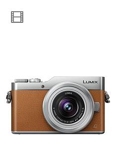 panasonic-lumixnbspg-dc-gx800nbspcompact-system-camera-12-32mmnbspinterchangablenbsplens-4k-ultra-hd-16mp-4x-digital-zoom-wi-fi-3-inchnbsplcdnbsptouchscreen-free-angle-monitor-tan