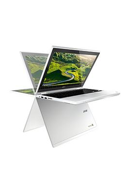 Acer R 11 Intel&Reg Celeron&Reg 4Gb Ram 32Gb Storage 11.6 Inch Touchscreen 2In1 Chromebook  White