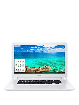 Acer Chromebook 15 Intel&Reg Celeron&Reg 4Gb Ram 32Gb Ssd 15.6 Inch Chromebook  White