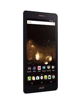 Acer Acer Iconia Talk S (A1734) QuadCore Processor 2Gb Ram 16Gb Storage Android 6.0 7 Inch Hd Ips Phablet Dual Sim  BlackBronze
