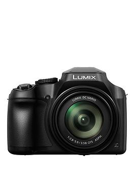 Panasonic Panasonic Lumix DcFz82 Bridge Camera 4K Uhd 18.1Mp 60X Optical Zoom WiFi Live Viewfinder 3 Lcd Touch Screen Black