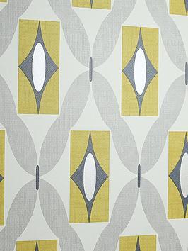 ARTHOUSE Arthouse Quartz Yellow Wallpaper Picture