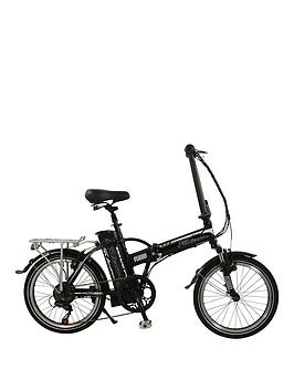 Falcon Fuse Alloy Folding Electric Bike 17 Inch Frame