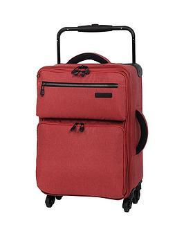 It Luggage Worlds Lightest Tritex 4Wheel Spinner Cabin Case