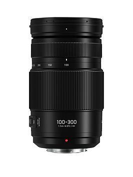 Panasonic Lumix G Vario HFsa100300E 100300Mm F45.6 Lens HFsa100300E