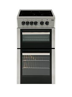 beko-bdc5422asnbsptwin-cavity-electric-cooker-silver-next-day-delivery