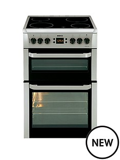 beko-bdvc667snbsp60cmnbspwidth-electric-cooker-silver-next-day-delivery