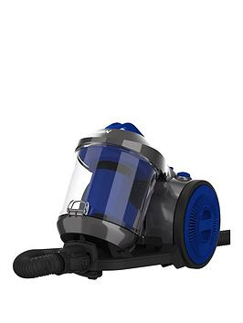 vax-ccmbpcv1p1-power-compact-cylinder-vacuum-cleaner-silver-and-blue