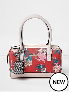 river-island-girls-rosa-floral-print-bowler-handbag