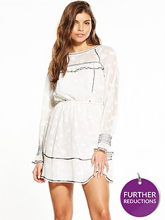 miss-selfridge-star-jacquard-dress