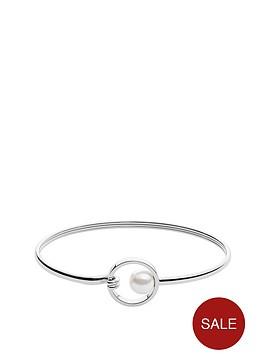 skagen-skagen-rhodium-plate-agnethe-pearl-circle-catch-bangle