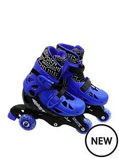 ozbozz-elektra-tri-line-adjustable-boots-blue