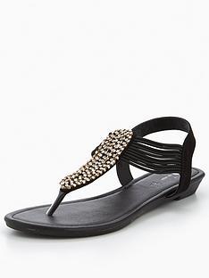 v-by-very-libra-embellished-low-wedge-toe-post-sandal-black