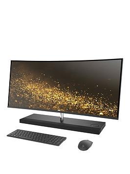 Hp Envy Curved 34B070Na Intel&Reg Core&Trade I7 8Gb Ram Ddr4 1Tb Hard Drive &Amp 256Gb Ssd 34 Inch 4K AllInOne Desktop Pc With 4Gb Nvidia Gtx 950M Graphics  Silver