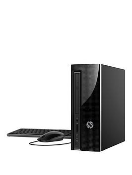 Hp Slimline 260P135Na Intel&Reg Core&Trade I3 8Gb Ram 1Tb Hard Drive Desktop Pc Base Unit  Black  Desktop Only