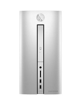 Hp Pavilion 570P050Na&Trade Intel&Reg Core I5 8Gb Ram Ddr4 1Tb Hard Drive Desktop Pc Base Unit  Silver  Desktop Only